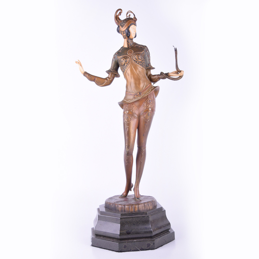 Gustav SCHMIDTCASSEL - Sculpture-Volume - Untitled (Dancer with Snake)