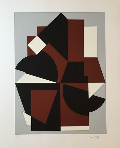 Victor VASARELY - Estampe-Multiple - Chelle