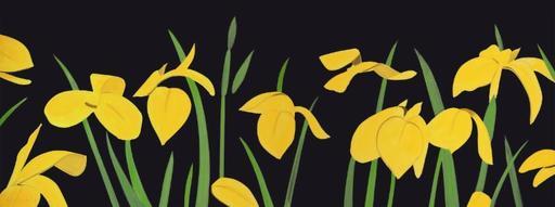 Alex KATZ - Stampa Multiplo - Yellow Flags 2