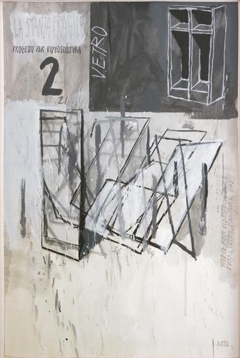 Fabrizio PLESSI - Pintura - La stanza fragile n. 2