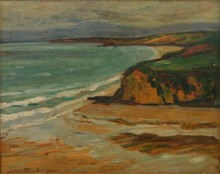 Jean COLLE - Pintura - Baie de Douarnenez