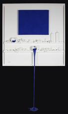Paul SIBUET - Sculpture-Volume - Flow 70 - Hommage à Klein