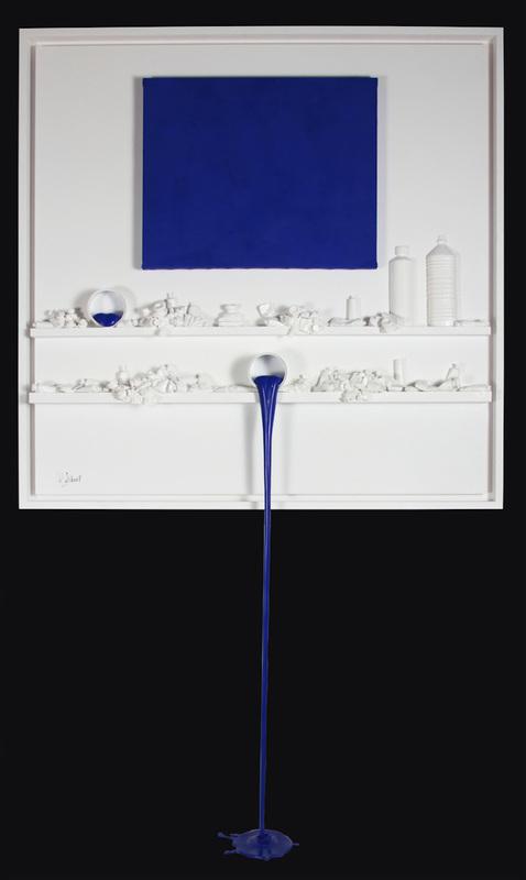 Paul SIBUET - Scultura Volume - Flow 70 - Hommage à Klein