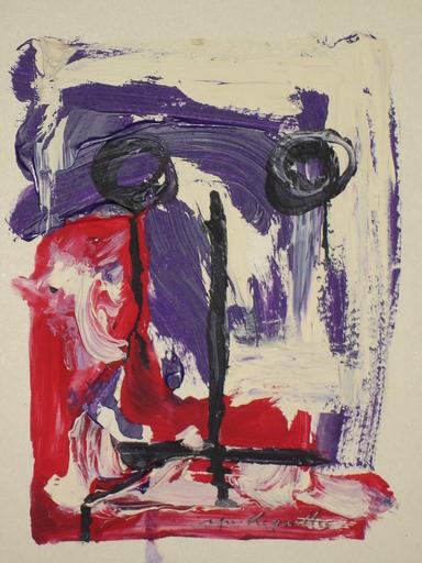 Yves LE GUELLEC - Pittura - TATOU S