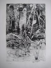 Edouard Joseph GOERG - Grabado - GRAVURE 1937 SIGNÉE CRAYON NUM HANDSIGNED ETCHING ART DÉCO