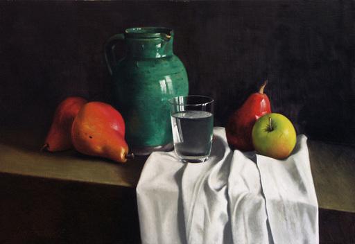 Bernard LONDINSKY - Pintura - Composition en diagonale
