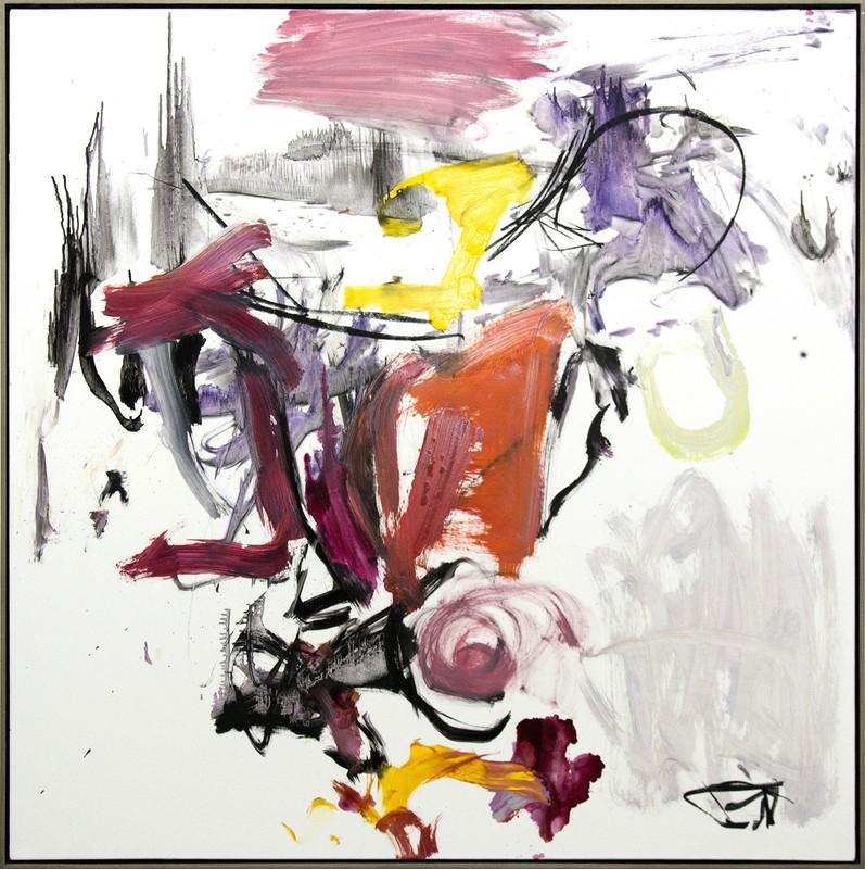 Scott PATTINSON - Painting - Denouement No 43