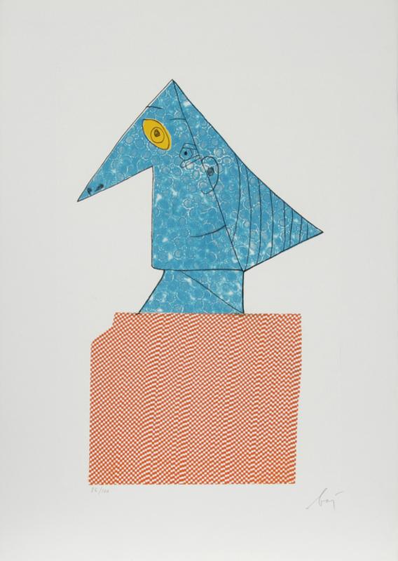 Enrico BAJ - Stampa Multiplo - Baj Chez Picasso 4