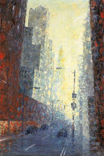 Heribert MADER - Pittura - New York – Manhattan