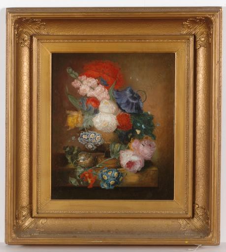 """Pieter FAES (Attrib.) - Pintura - """"Flower still-life"""""""
