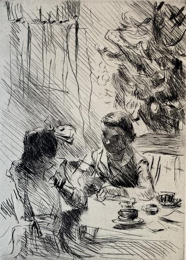 Lovis CORINTH - Print-Multiple - Unter dem Weihnachtsbaum