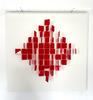 Julio LE PARC - Scultura Volume - Mobile losange rouge