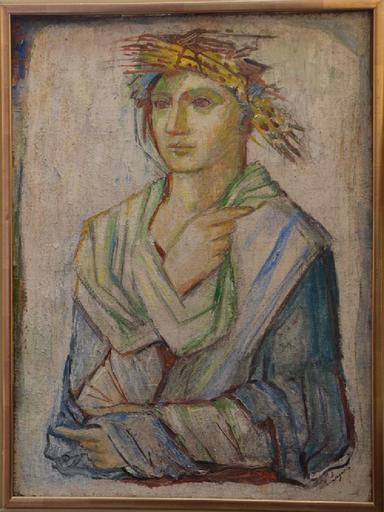 Maria Aleksandrovna LAGORIO - Painting - Female portrait