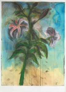 Jim DINE - Print-Multiple - The Sky and Lilies