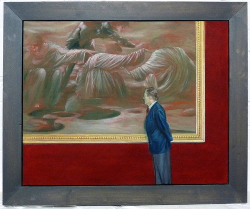 Alice  STEPANEK & Steven  MASLIN - Painting - o.T.