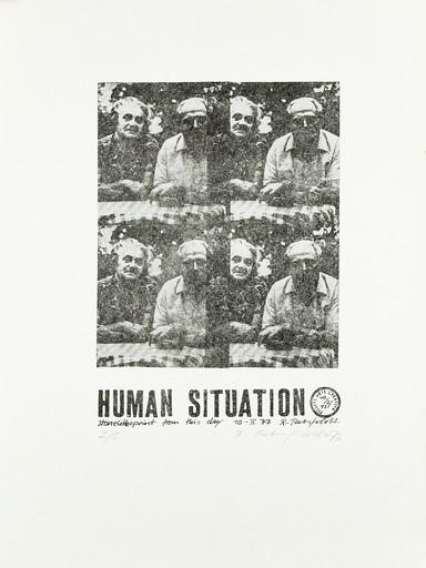 Ruth WOLF-REHFELDT - Grabado - Human Situation