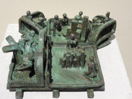 Michaël MAGNE - Sculpture-Volume - Au bout d'un théatre de civilités