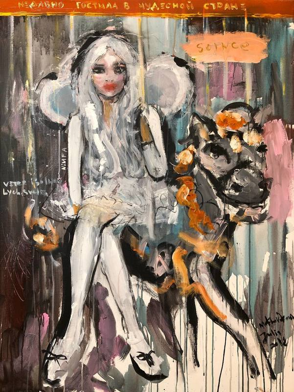 Julia PEKER-MOKHOVIKOVA - Pintura - Recently visited a wonderful country