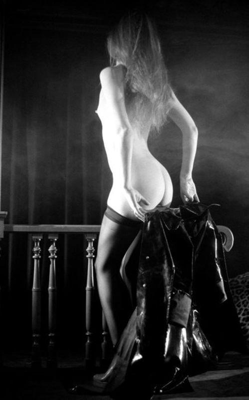 Jean-Pierre FIZET - Photography - Jane Birkin de dos