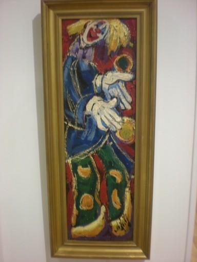 Henry Maurice D'ANTY - Gemälde - Le clown
