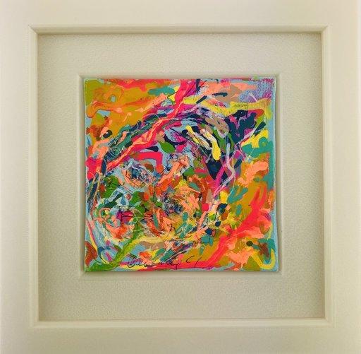 Nicole LEIDENFROST - Gemälde - Top Down