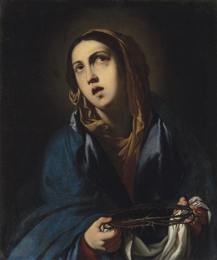 Francesco Pacecco DE ROSA - Painting - Mater Dolorosa