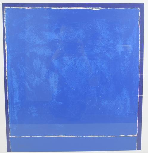 Theodoros STAMOS - Druckgrafik-Multiple - Untitled infinity field (Blue)