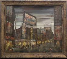 Hugo CASAR - Pintura - NYC Times Square