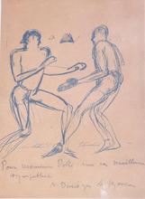André Albert Marie DUNOYER DE SEGONZAC - Dibujo Acuarela