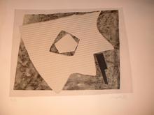 Alberto MAGNELLI - Estampe-Multiple - LA composition CARBONARUM