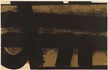 Pierre SOULAGES - Grabado - Lithographie n°35