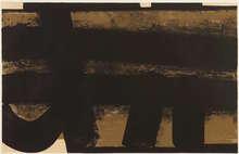 Pierre SOULAGES - Estampe-Multiple - Lithographie n°35