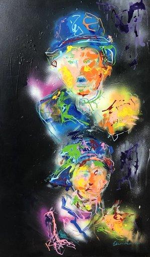 Nicole LEIDENFROST - Gemälde - Hommage an C.