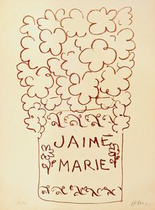 Henri MATISSE, J'aime Marie