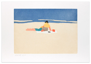 Alex KATZ, Figures on Beach, 1958 From the portfolio Small Cuts
