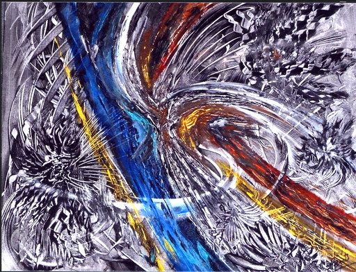 Didier ANGELS - Peinture - apocalypse 2011