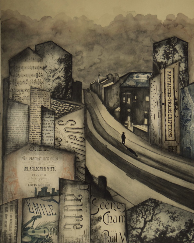 Géraldine THEUROT - Peinture - Urban VII    (Cat N° 4928)