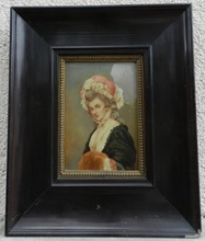 George ROMNEY - Painting - Mrs Mary Darby Robinson - Actress 1758-1800