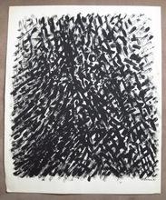 Jacques GERMAIN - Drawing-Watercolor - Composition JG 06-81