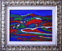 Achille PACE - Painting - paesaggio romano