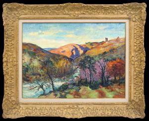 Armand GUILLAUMIN - Painting - La Vallée de la Sedelle