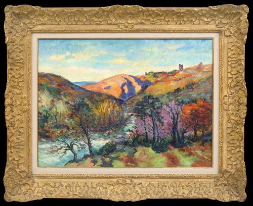 Armand GUILLAUMIN - Pintura - La Vallée de la Sedelle