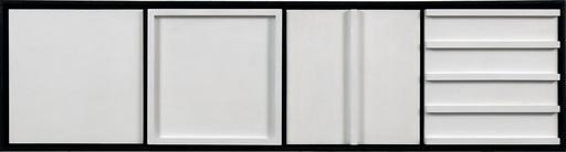 Jerzy GROCHOCKI - Skulptur Volumen - White Signs Sequence