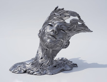Gil BRUVEL - Escultura - The Wind