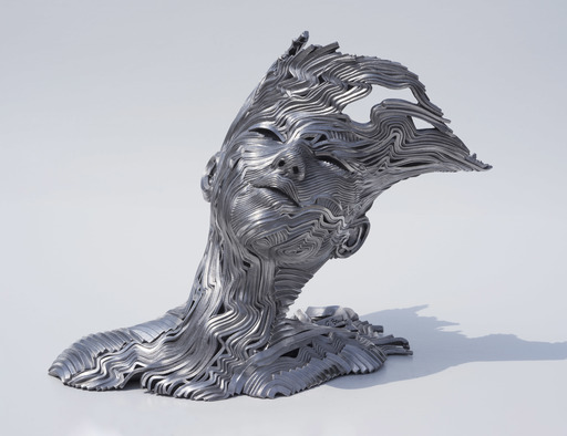Gil BRUVEL - Skulptur Volumen - The Wind