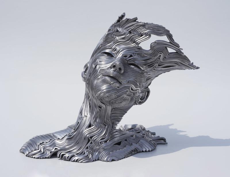 Gil BRUVEL - Sculpture-Volume - The Wind