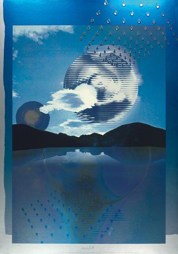 Heinz MACK - Druckgrafik-Multiple - Kunst im Jahr 2000