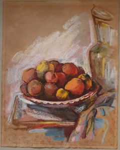 Richard ZIEGLER - Drawing-Watercolor - Still Lfe
