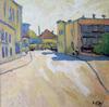 Valeriy NESTEROV - Painting - Sretenskiy lane. Moscow