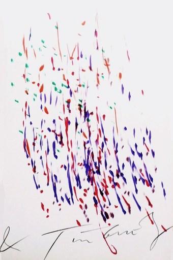 "Jean TINGUELY - Peinture - ""Meta"" de K.G. Pontus Hulten"
